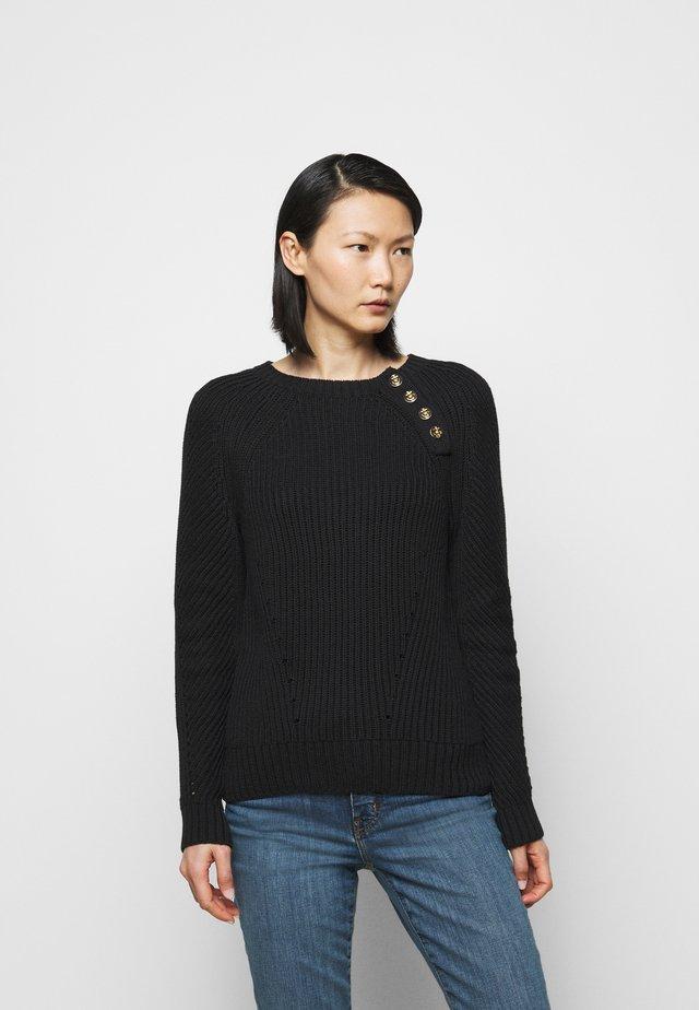 Jersey de punto - polo black