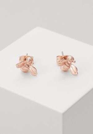 BEELLI BUMBLE BEE EARRING - Pendientes - rose gold-coloured