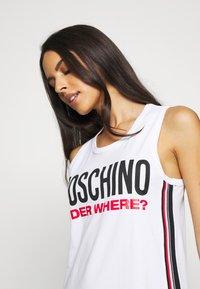 Moschino Underwear - MAXI - Nightie - white - 4