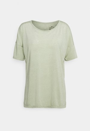 YOGA LAYER - T-shirt basic - celadon heather/olive aura