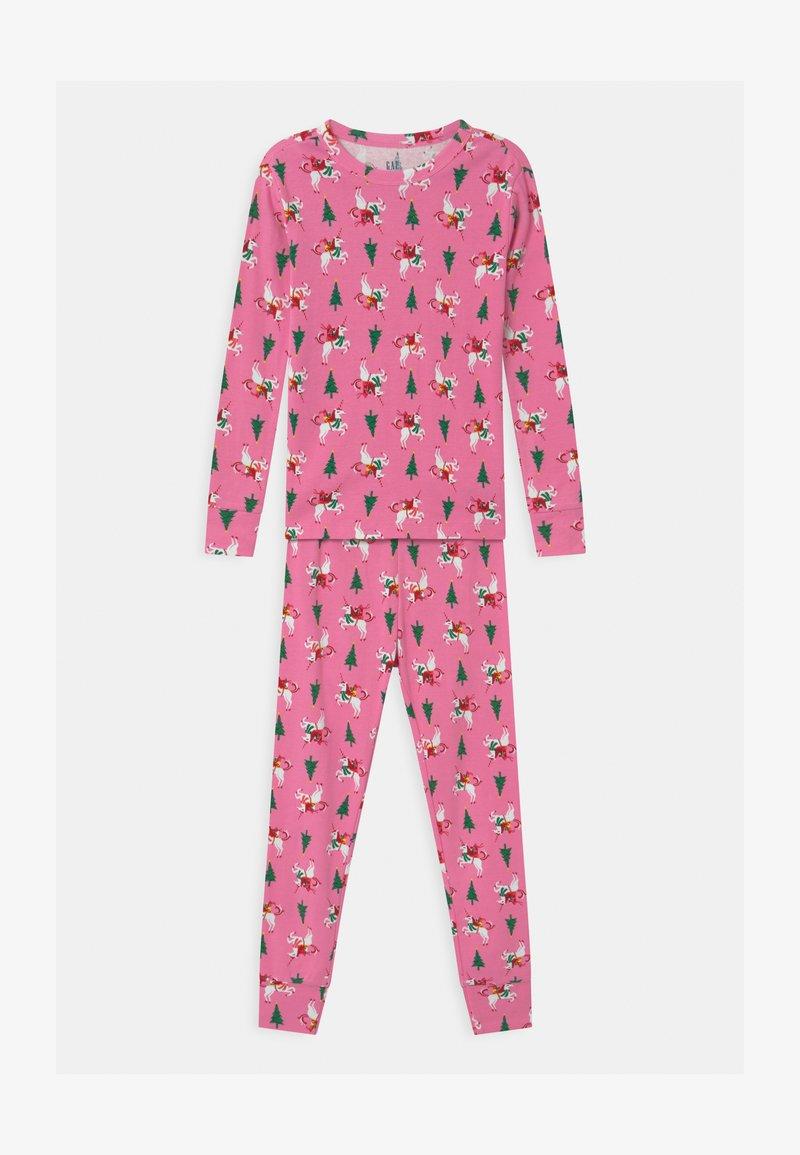 GAP - GIRL XMAS  - Pyjama set - parisian pink