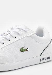 Lacoste - GRADUATE - Sneakers - white/black - 5