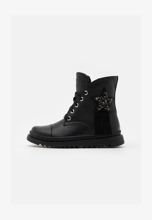 GILLYJAW GIRL - Bottines à lacets - black
