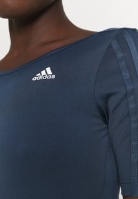 adidas Performance - Leotard - crew navy/white