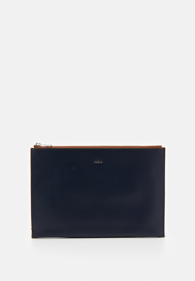 PROJECT IPAD ENVELOPE  - Notebooktasche - cognac/blue