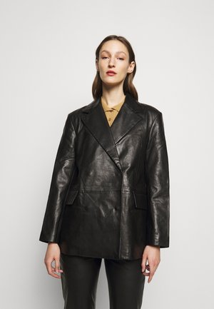 CHARLOTTE  - Leather jacket - black