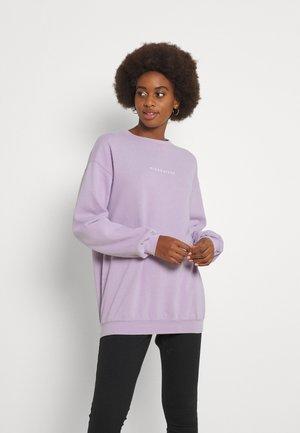 WASHED SWEAT - Sweatshirt - lilac