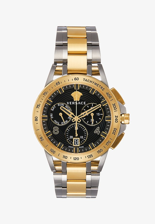 SPORT TECH - Chronograph - gold-coloured/gun