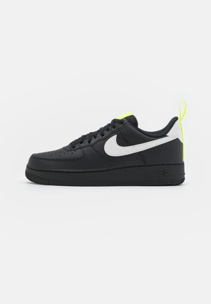 AIR FORCE 1  - Sneakersy niskie - black/white/volt/reflect silver