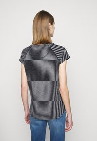 CLOSED - Print T-shirt - dark night - 2