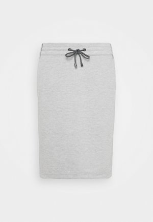 RENAFA SKIRT - Pencil skirt - light grey melange