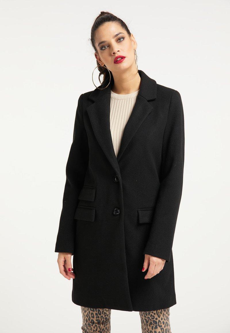 faina - Short coat - schwarz