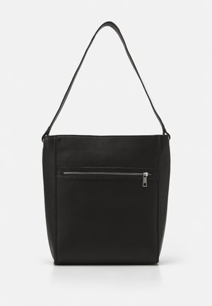 LEATHER - Bolso shopping - black
