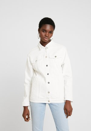 JILL - Giacca di jeans - white ripped