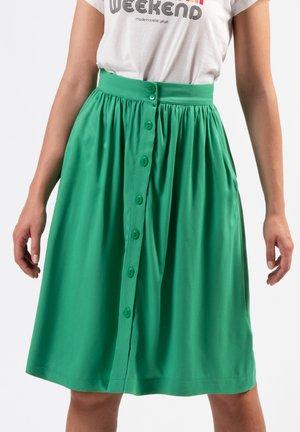 SUNNY SIDE - A-line skirt - green