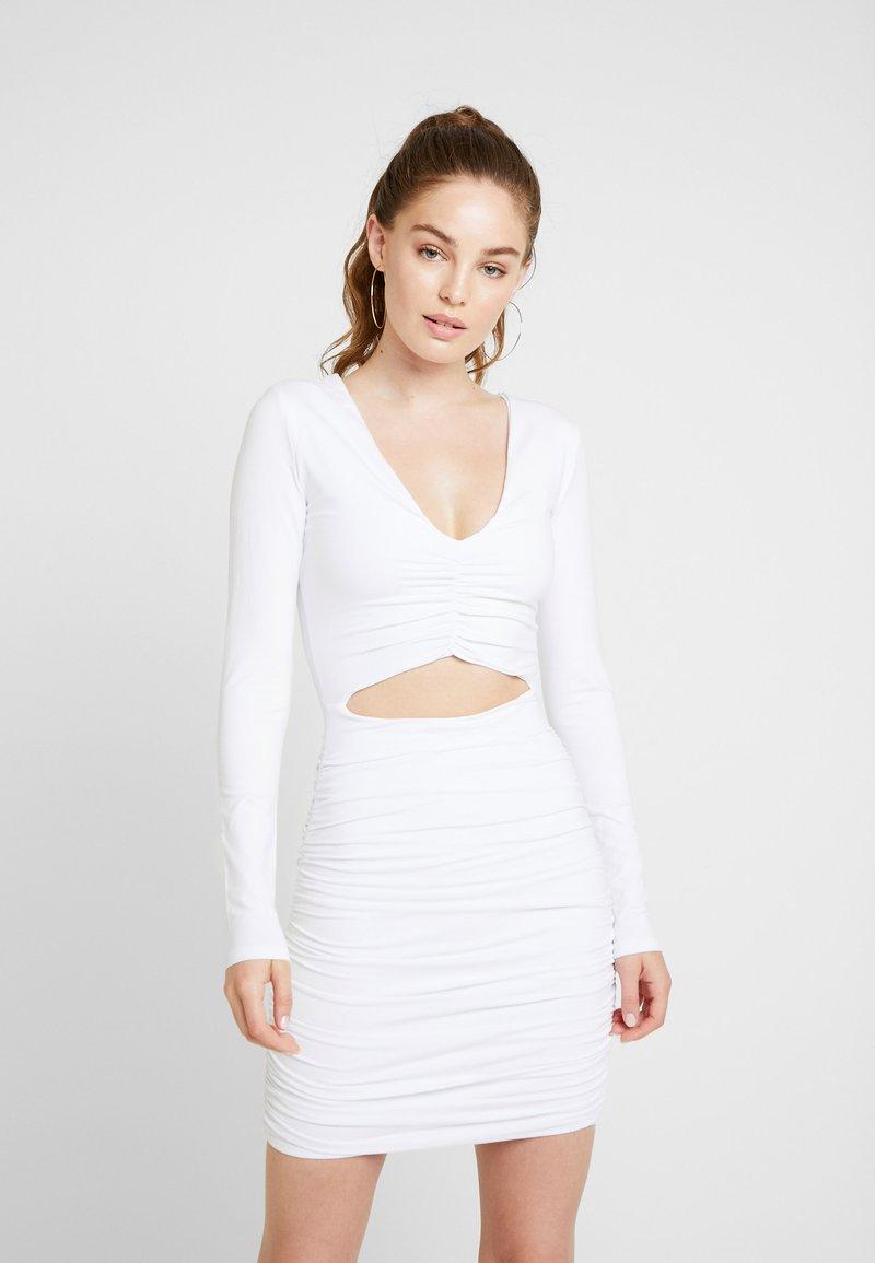 Tiger Mist - SIAN DRESS - Shift dress - white