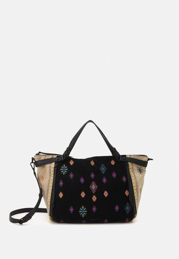 BOLS JULY TRIBU LIBIA - Handbag - black