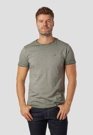 Print T-shirt - green fall
