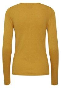 ICHI - MAFA O CA NOOS - Cardigan - mineral yellow - 6