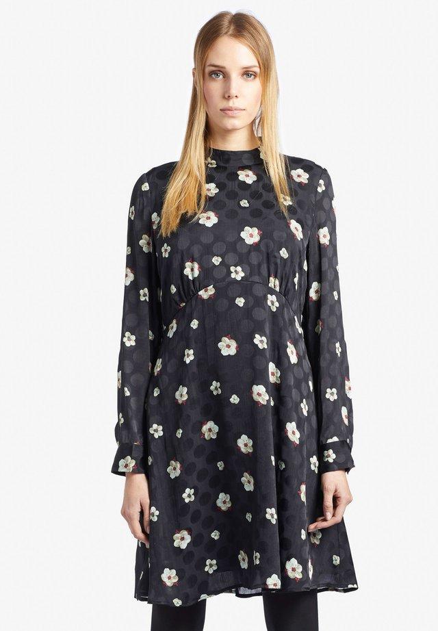 SOLINE - Korte jurk - black