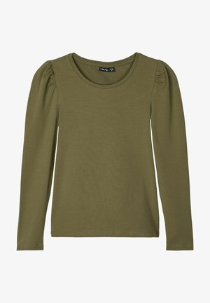 Long sleeved top - ivy green