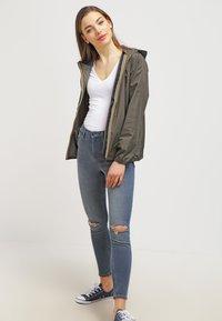 K-Way - CLAUDETTE - Summer jacket - khaki - 1