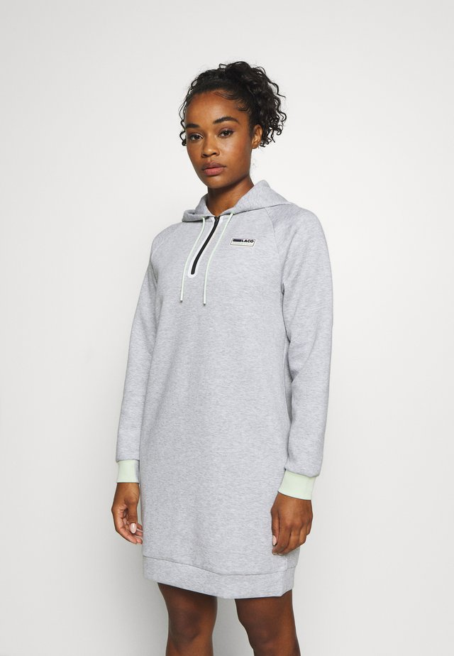 CITY DRESS - Robe de sport - silver chine/evernie/white/black