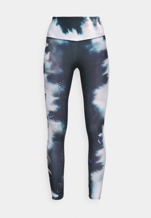 HIGH RISE GRAPHIC MIDI - Leggings - first frost