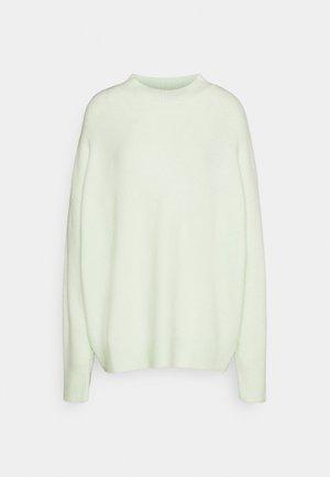 MOUSSE HIGH NECK JUMPER - Stickad tröja - mint