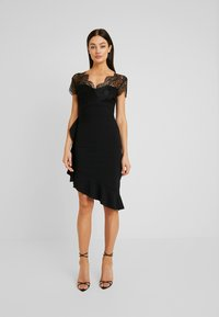 Sista Glam - LYNDIA - Cocktailkjole - black - 2