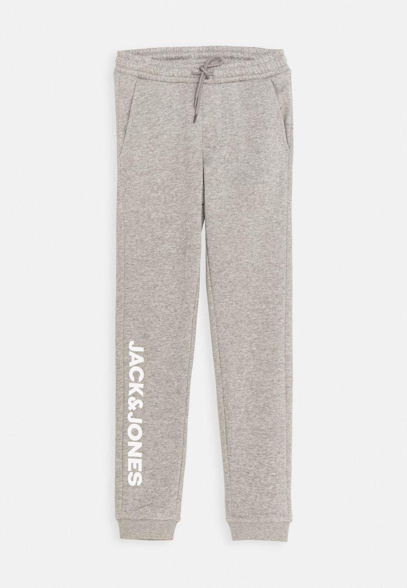 Jack & Jones Junior - JJIGORDON SIDE SOFT PANTS - Trainingsbroek - light grey melange