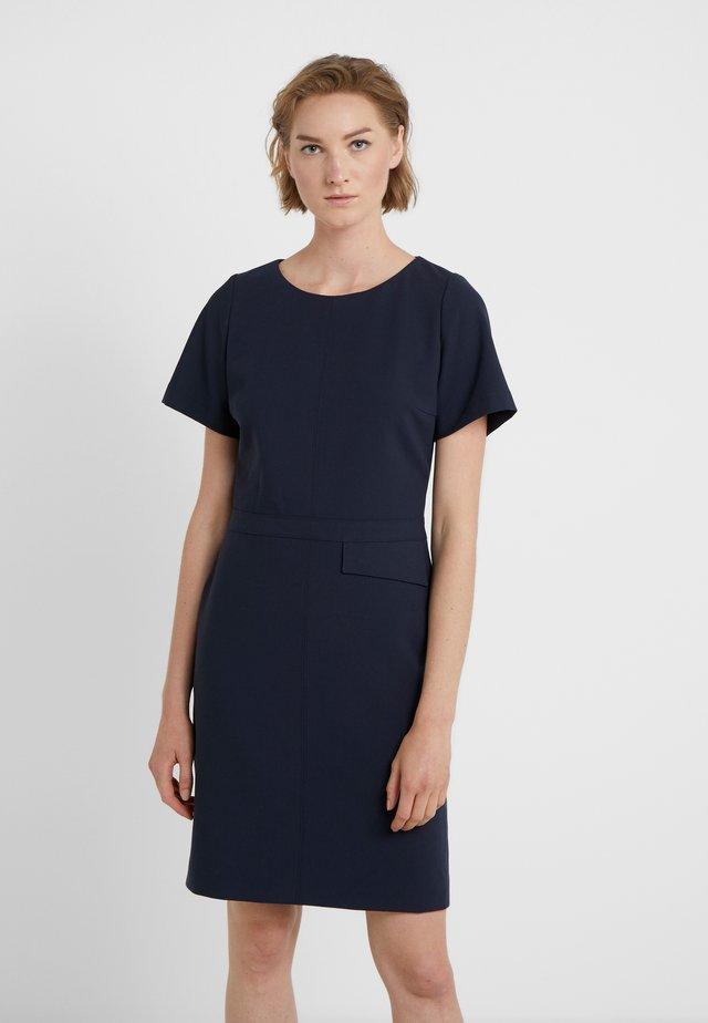 KATARA - Shift dress - dark blue