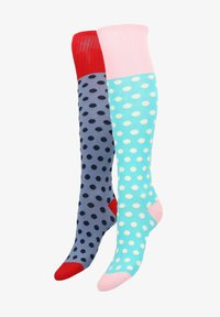 Libertad - 2PACK  - Over-the-knee socks - pink - 1