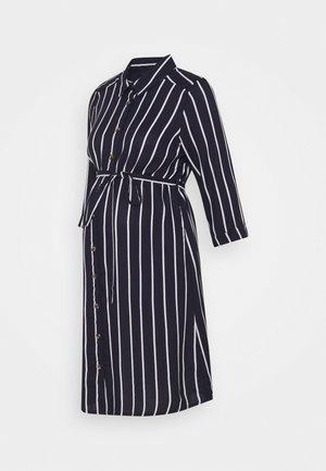 NURSING DRESS - Shirt dress - navy blazer