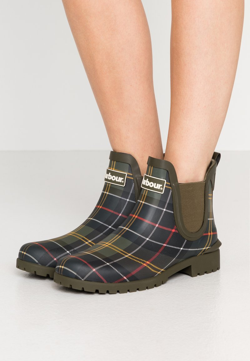 Barbour - WILTON - Wellies - tartan