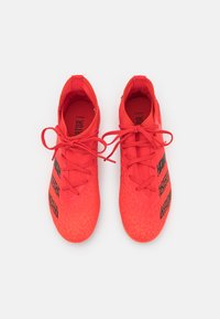 adidas Performance - PREDATOR FREAK .3 MG UNISEX - Moulded stud football boots - red - 3