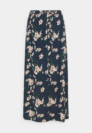 VMSIMPLY EASY SKIRT - Maxi skirt - navy blazer