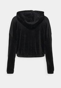 ONLY - ONLLAYA - Zip-up hoodie - black - 5