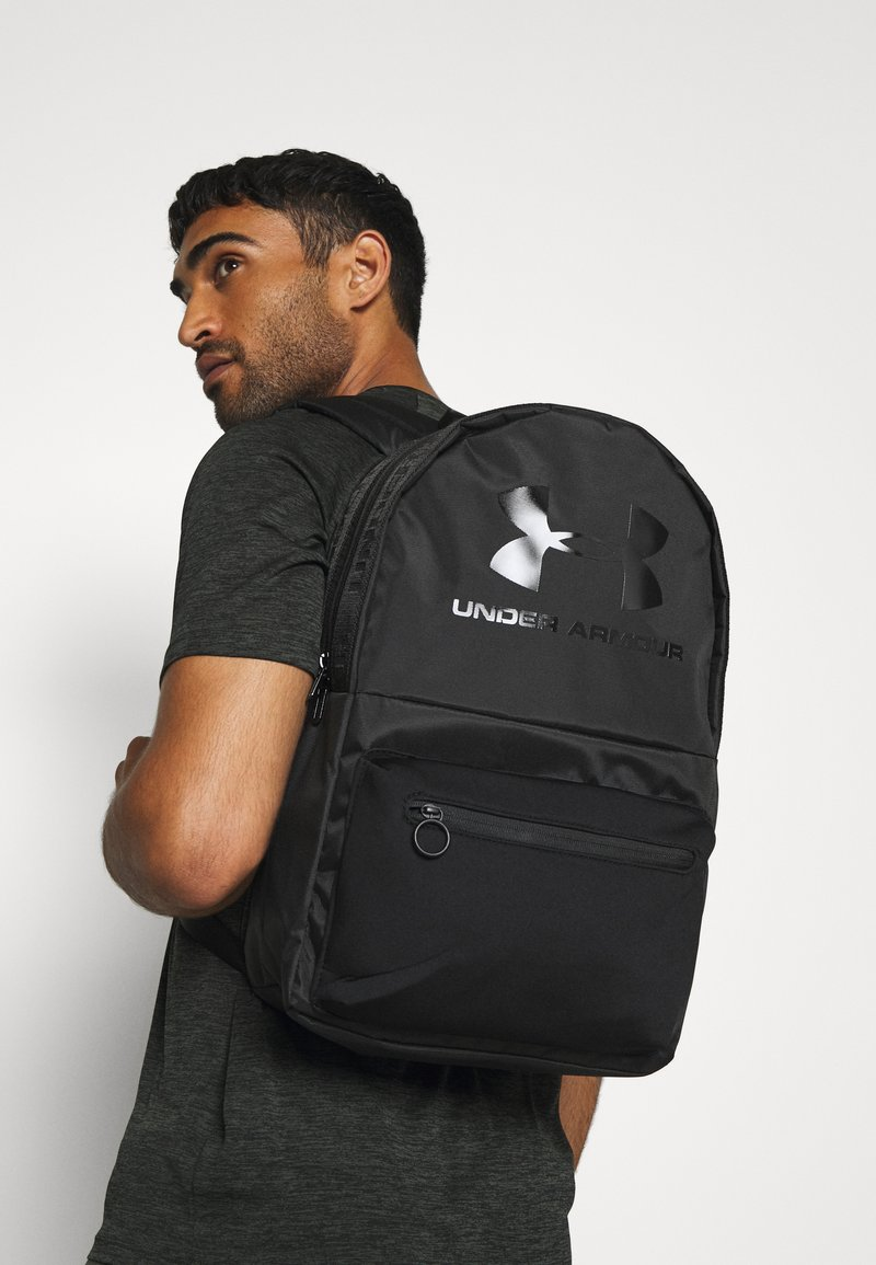 Under Armour - LOUDON LUX BACKPACK - Rucksack - black
