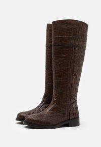Pons Quintana - TERRY - Vysoká obuv - toffe - 2