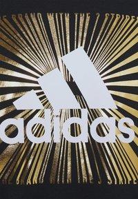 adidas Performance - T-shirt con stampa - black - 2