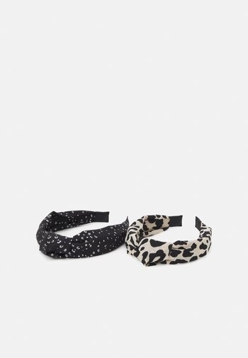 FGSTENNA HAIRBAND 2 PACK - Hair styling accessory - black