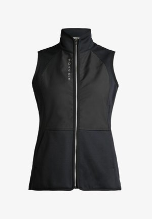 IVY  - Waistcoat - black