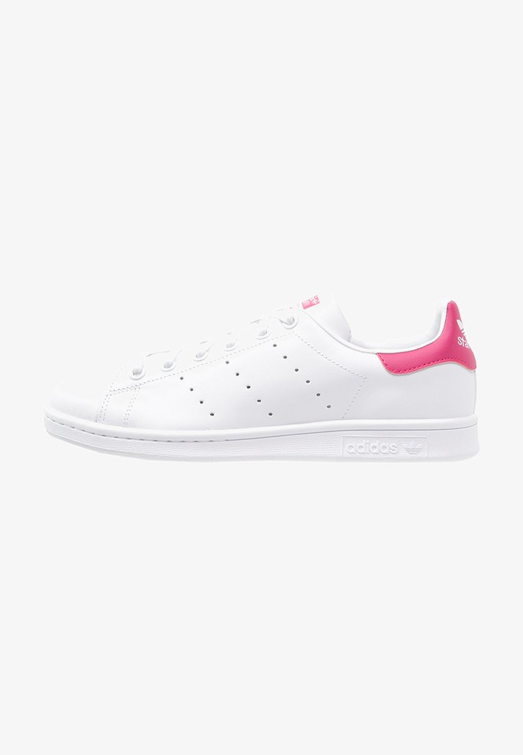 adidas Originals - STAN SMITH - Sneakers basse - white/bold pink