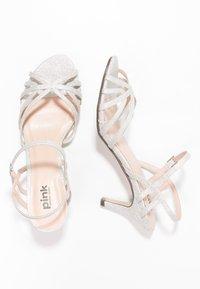 Paradox London Pink - HARPER - Sandaler - pale silver - 2