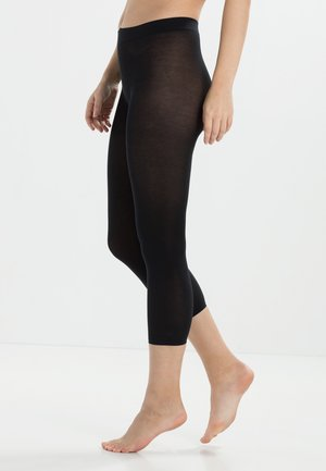 FALKE COTTON TOUCH LEGGINGS BLICKDICHT GLATT - Leggings - Stockings - COTTON TOUCH
