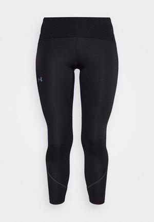 FLY FAST - Leggings - black/jet gray