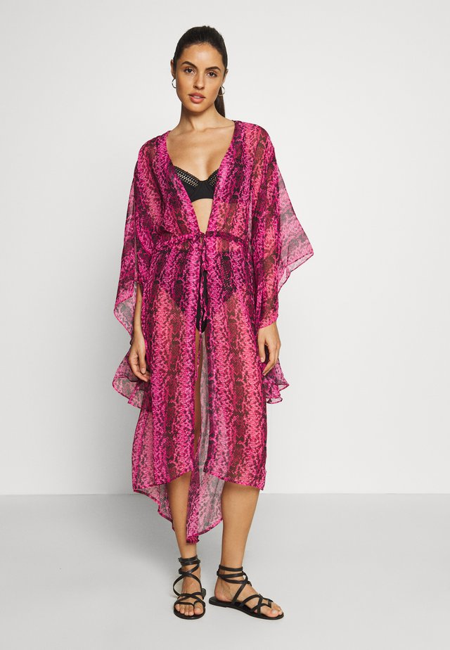 BASSA KAFTAN - Beach accessory - pink