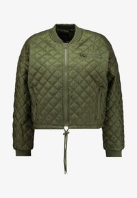 QUILTED - Chaquetas bomber - burnt olive