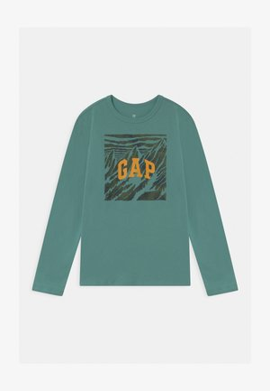 BOY VALUE GRAPHIC - Longsleeve - turquoise smoke